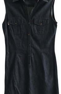 Burberry short dress Denim on Tradesy