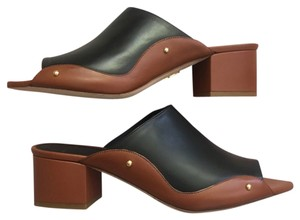 Maiyet Tan and black Mules