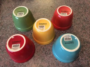Crate And Barrel Addison Ceramic Mini Bowls
