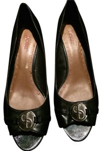 Dexter Black & Silver Pumps