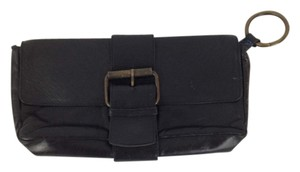 Kooba Leather Envelope Black Clutch