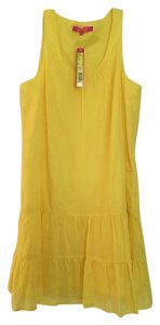 Catherine Malandrino short dress Tropicana Yellow on Tradesy