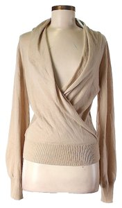 Rachel Zoe Wool Cashmere Cross-over Sweater