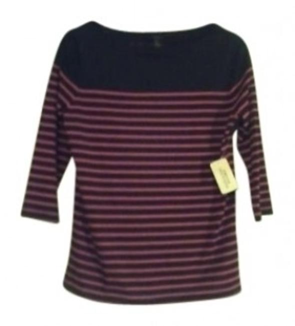 Preload https://item1.tradesy.com/images/forever-21-navyred-striped-tee-shirt-size-8-m-148230-0-0.jpg?width=400&height=650