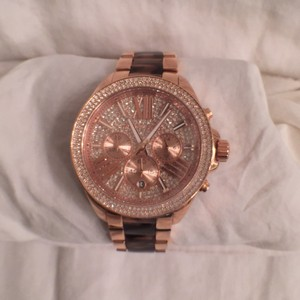 Michael Kors NEW! Michael Kor Chronograph Rose Gold, Tortoise MK6159