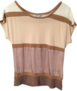 Express Tan Brown Going Out Brown Blouse Tan Blouse Top