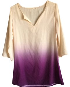 Tobi short dress Purple Ombre Tunic Longsleeve Comfortable on Tradesy