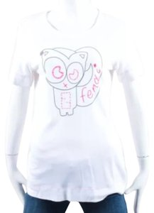 Fendi T Shirt White
