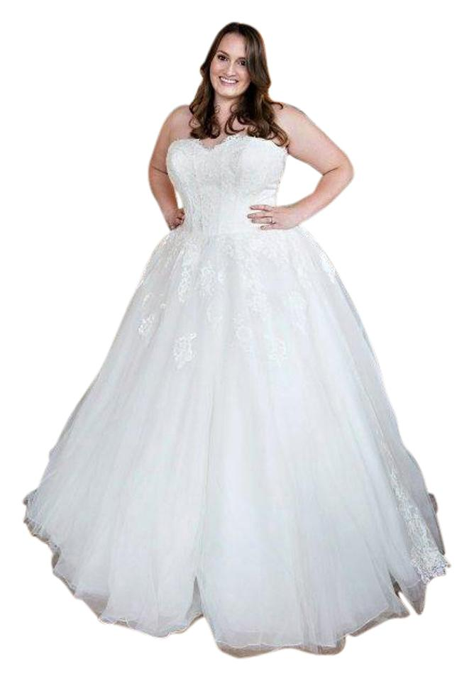 Allure Bridals Ivory English Net & Lace A Lovely For Your Special ...