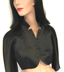 Maggy London Black Bolero Jacket Dress