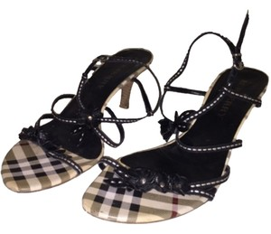 Burberry Plaid Sandals