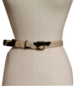 Banana Republic Banana Republic cow hair belt