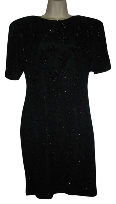 Preload https://img-static.tradesy.com/item/1482555/black-beads-sequins-knee-length-night-out-dress-size-8-m-0-0-650-650.jpg