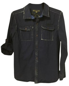 DKNY Button Down Shirt Blue