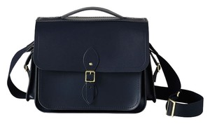 The Cambridge Satchel Company Structured Messenger Navy Travel Bag
