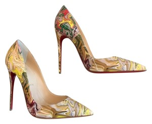 Christian Louboutin Multi-Color Marble(CM09) Pumps