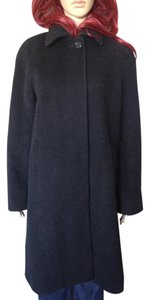 Jones New York Wool Mohair Duster Pea Coat
