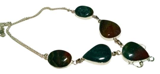 Preload https://item1.tradesy.com/images/other-jasper-gemstone-large-stone-necklace-925-silver-blue-green-brown-j462-1482590-0-0.jpg?width=440&height=440