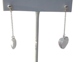 Tiffany & Co. Tiffany & Co Silver & Rock Crystal Drop Dangling Earrings