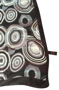 Other NEW!! LONG 100% SILK AND LINEN SCARF--MODERN AND GORGEOUS!
