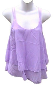 Other Summer Chiffon Top Purple