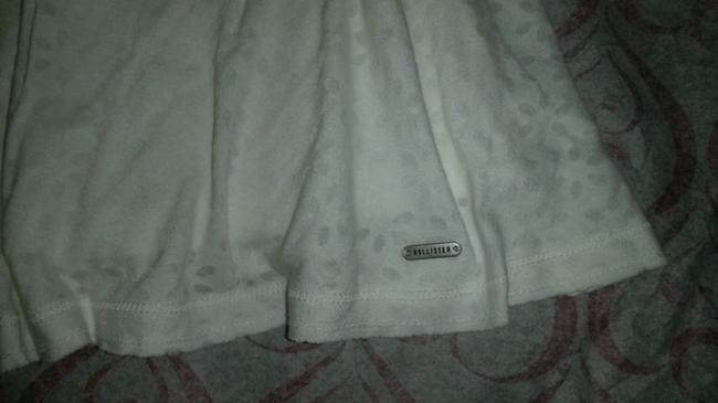 Hollister Abercrombie Fitch Skater Knit Mini Mini Skirt White Image 3