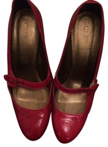 J.Crew Mary Jane Leather Pumps