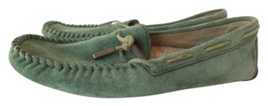 UGG Australia Mocassin Light Mint Green Flats