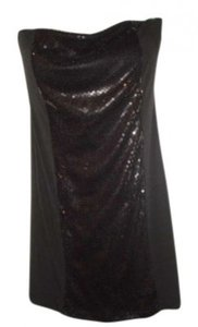 Body Central Sequined Sexy Strapless Dress