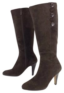 Cole Haan Brown Suede Knee High Boots