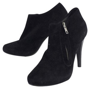 Andre Assous Black Suede Ankle Boots