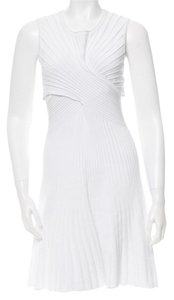 Ohne Titel short dress White Intermix Valentino Herve Leger on Tradesy