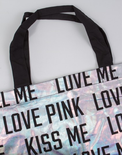 PINK Bling Victoria's Secret Limited Edition Tote in Silver Image 3