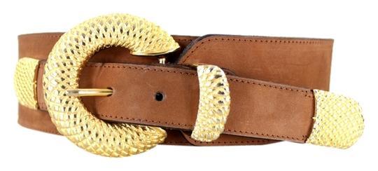 Preload https://item3.tradesy.com/images/unbranded-unbranded-woman-designer-italian-brown-and-gold-buckle-leather-belt-size-xss-1482872-0-0.jpg?width=440&height=440