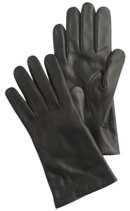 J.Crew J CREW ITALIAN LEATHER GLOVES size(Medium)