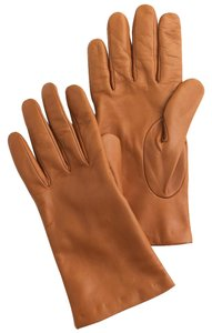 J.Crew J CREW ITALIAN LEATHER GLOVES Size(Large)