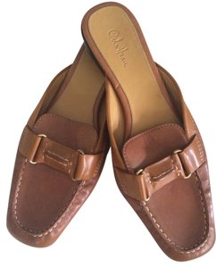Cole Haan Tan Mules