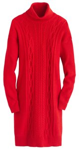 J.Crew Dress Sweater Straight Silhouette. Turtleneck Sweatshirt