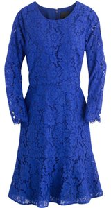 J.Crew Floral Lace Longsleeve Dress