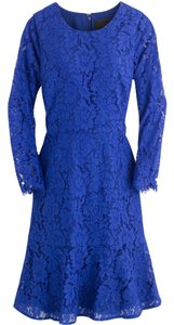 J.Crew Longsleeve Floral Lace Dress
