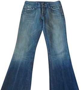 Citizens of Humanity Flare Leg Jeans-Medium Wash