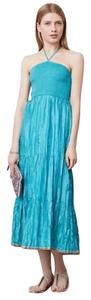 Turquoise Maxi Dress by Anthropologie