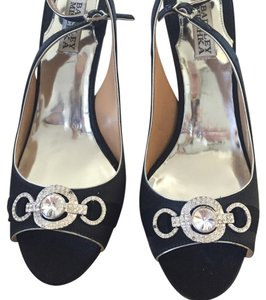Badgley Mischka Black Sandals