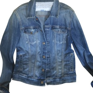 7 For All Mankind Medium to light denim Womens Jean Jacket