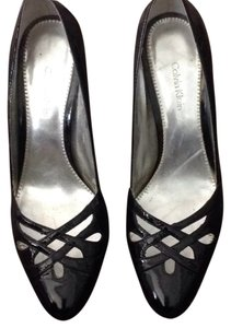 Calvin Klein Patent Seductress Pumps