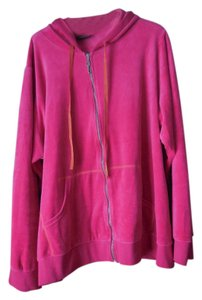 Lane Bryant Velour Plus-size Zip Up Sweatshirt