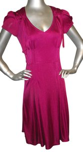 Betsey Johnson short dress Magenta on Tradesy