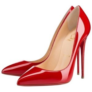 Christian Louboutin Patent Chic Red Pumps