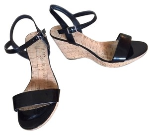 Bandolino black and cork Sandals