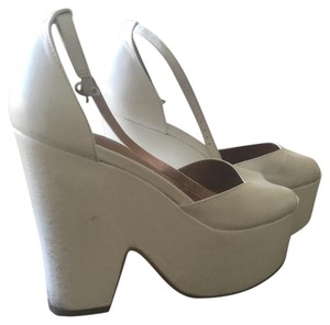 Jeffrey Campbell Wedges Steve Madden Summer White Platforms